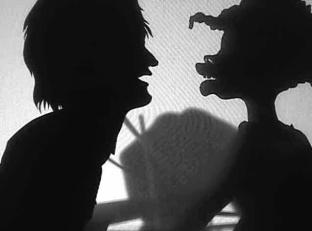 Kara E. Walker, Still from Testimony: Narrative of a Negress Burdened by Good Intentions (2004) Video (B&W, no audio), 8:48 mins © Kara Walker Courtesy of Sikkema Jenkins & Co., New York.