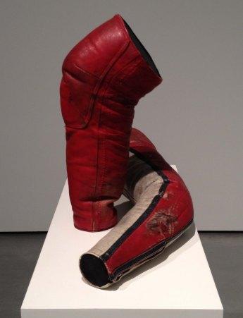 GiMoto, 2012 Leather, wood, cotton felt stuffing and plinth Wolfgang Tillmans, London