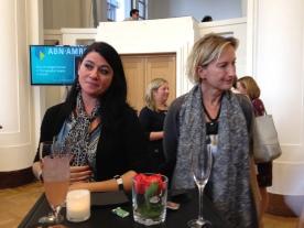 Cecilia Ferreira and Kathleen Louw