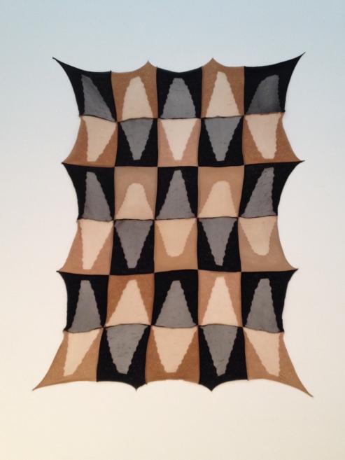 Repeat I, 2012 Nylon, elastane and fabric stiffener. Courtesy the artist, Herald St, London and BQ, Berlin