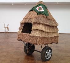 Alexandra Bircken, Scania (2014), mixed media installation.