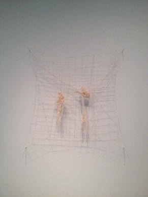 Spill, 2012. Wool, silk and linen. Courtesy the artist, Herald St, London and BQ, Berlin