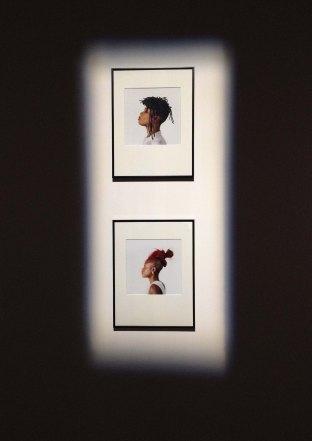 Helene Jayet, Colored Only series (2013), lambda prints.