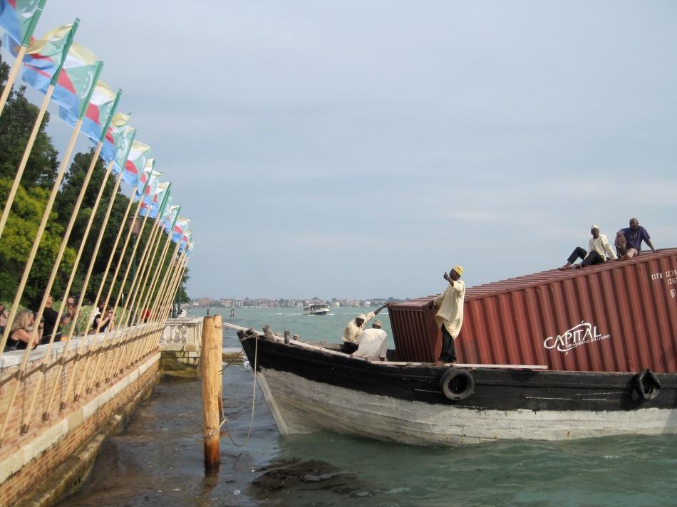 Paolo W Tamburella, Comoros Islands Pavilion. 53rd Venice Biennale. Photo: Christine Eyene