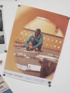 Georges Adéagbo, La Création et les Créations, detail.