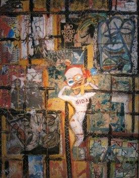 Marco Kabenda, Quadro 8, 1995.