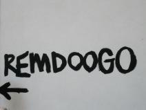 Remdoogo sign