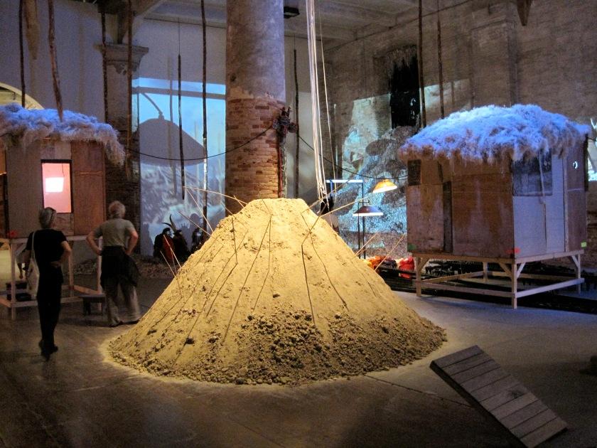 Pascale Marthine Tayou, Human Being @ Work (2007-2009). Mixed-media installation. Photo Christine Eyene