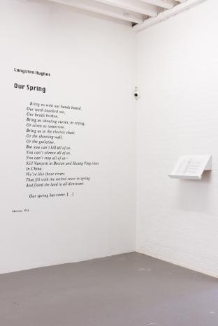 Exhibition view, DRAF, 2015. Photo: Tim Bowditch.