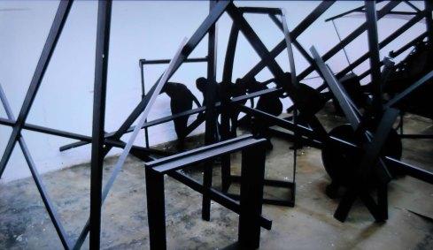 Serge-Alain Nitegeka, Black Subjects, 2012. Single-channel digital video. South African Pavilion.