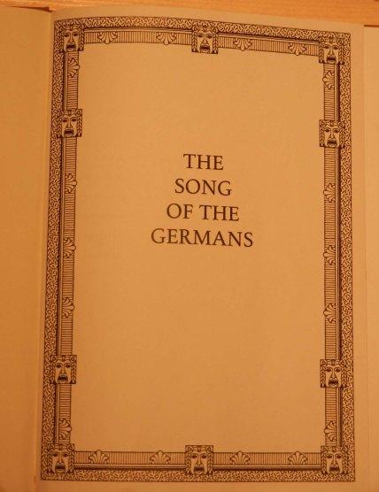 Emeka Ogboh, The Song of The Germans (Deutschelandlied), 2015. Ten-channel sound installation.