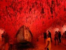 Chiharu Shiota, The key in the hand, 2015. Japan Pavilion.