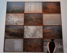 Sammy Baloji, Essay on Urban Planning, 2013. 12 colour photographs. Belgian Pavilion.