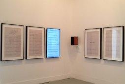 Charles Gaines, Librettos: Manuel de Fallas / Stockely Charmichael, Set 13, 2015.