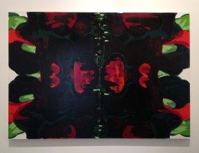 Kerry James Marshall, Untitled (Blot), 2015. Acrylic on PVC panel.