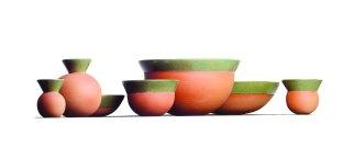 Sandrine Dole, Pidgin. Crockery range, enameled ceramics.