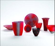 Marisa Fick-Jordaan, Zenzulu, Made in Africa Collection. Handmade telephone wire weaving.