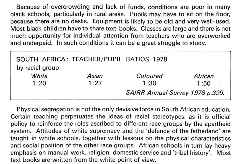 Teacher ratio