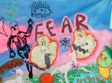 Delaine Le Bas, Fear – Spring, detail.
