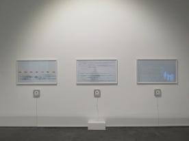 Magda Stawarska-Beavan, Mother Tongue series, 2009. Screenprint on paper with audio.