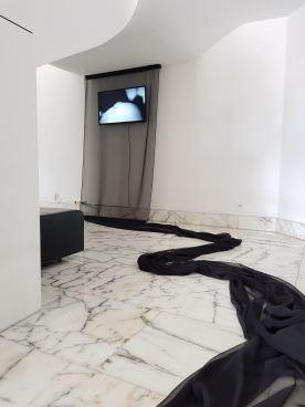 Amine Oulmakki, Tentative de mise en image, 2018, vidéo.