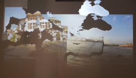 Magda Stawarska-Beavan & Joshua Horsley, Bosphorous, 2017-2018, installation vidéo et son