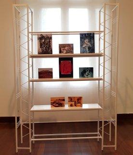 Shiraz Bayjoo, À la recherche de Libertaria (détail), 2018, installation.
